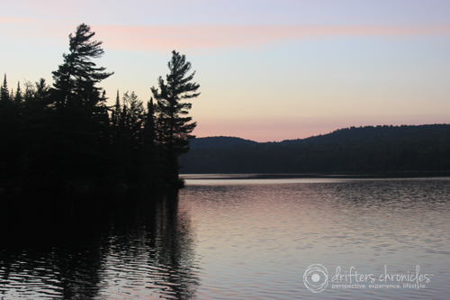 Sunset at Algonquin Park