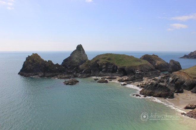 Kynance Cove in the Lizard Peninsula