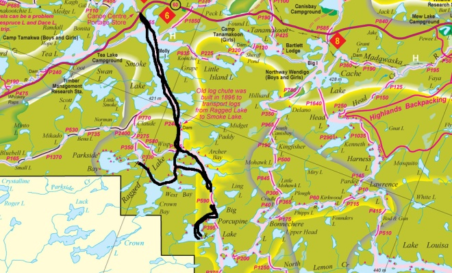 Algonquin Park Map (1)