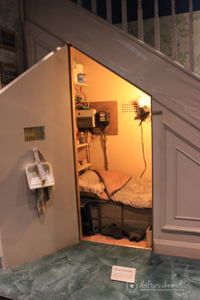 The Smallest Bedroom Under the Stairs.