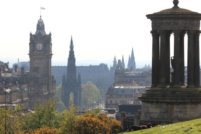 The  view from Calton Hill